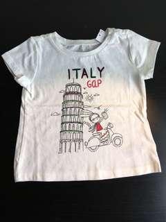 [readystock] GAP Italy girls tshirt (2-3y)