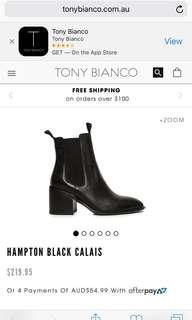 TONY BIANCO HAMPTON BOOTS