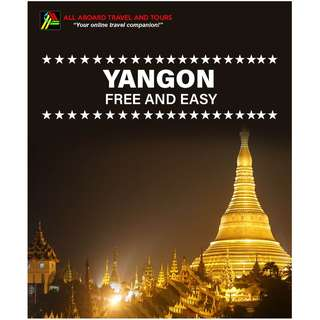 Yangon Free and Easy Land Arrangement for 2 Persons