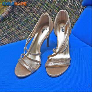 Strappy Pump Heels Sandal