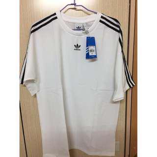 Adidas ORIGINALS 愛迪達 三葉草 短T 男裝 女裝 運動休閒 短袖T恤 黑 CW1216 白CW1217 全新