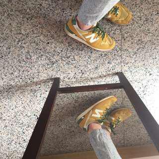 🚚 New Balance wr996黃綠配休閒鞋