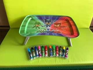 PJ Masks Table & Pens
