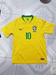 Brazil FIFA World Cup 2018 Jersey with nameset