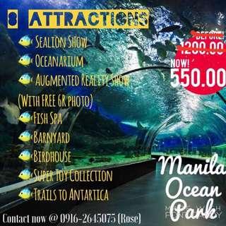 Discounted Manila Ocean Park Tickets