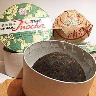 Aged Puer (Yunnan The Tuocha) 10年以上法国熟沱