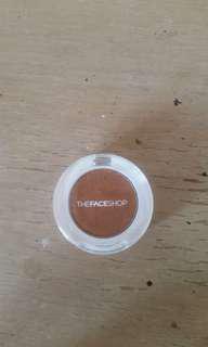 The face shop eyeshadow