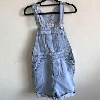 ASOS denim overalls
