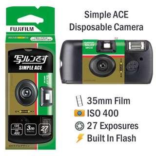 Fujifilm Simple Ace Disposable Camera