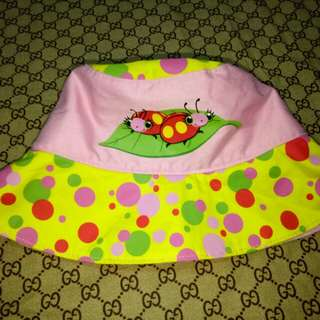Lady Bug Hat for her(Size 12-24 M)