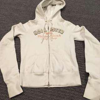 Hollister zip up hoddie