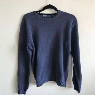 Polo navy sweater