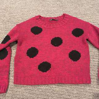 Dotti spotty knit