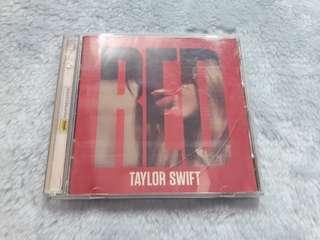Taylor Swift Red Album with bonus tracks