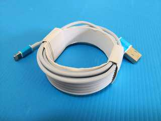 apple lighting cable longest ever 3m for work and office