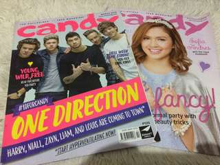 One Direction & Sofia Andres Candy Magazine