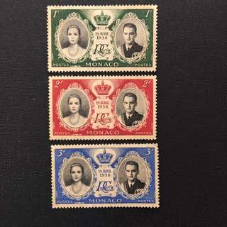 MONACO OLD STAMPS