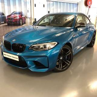 BMW M2 Coupe (MT) 2017