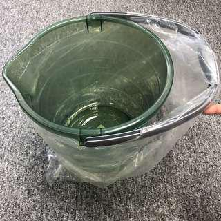 Brand New Pail Funnel Shaped Opening