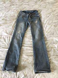 🚚 9成新美國Guess牛仔褲24腰