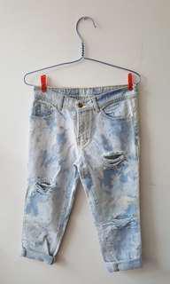 DIJUAL CEPAT!!! Celana ripped jeans