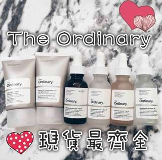 🚚 The ordinary 果酸5% 、玻尿酸