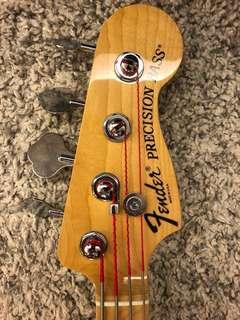 Fender precision active bass guitar P & J pickups