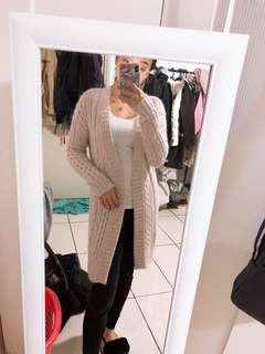 Forever New Pink Knit Coat