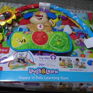 🚚 Fisher price puppy and pals learning gym @ $80