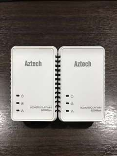 Aztech Homeplug 500Mbps