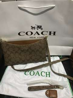 Authentic Quality Coach Ladies Small Sling Bag (Free Shipping)