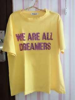 tshirt yellow