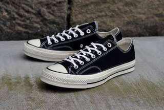 Converse 70s low black white
