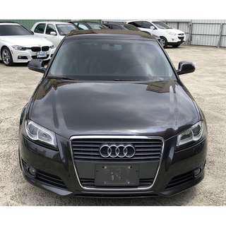 2010 Audi A3 2.0 鐵灰 深灰 灰黑色 五門