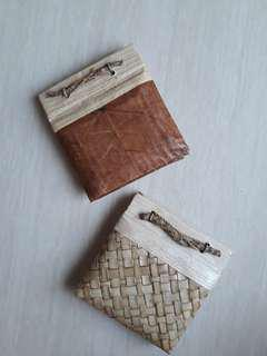 Small Bali Notebook with Leaf Hardcover (jurnal kecil)