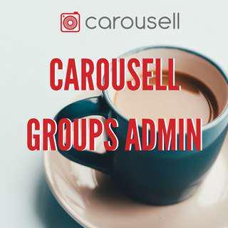 CAROUSELL GROUPS ADMIN