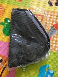 Toddler safety belt cushion