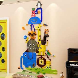 Little Acrylic Animal Wall Deco