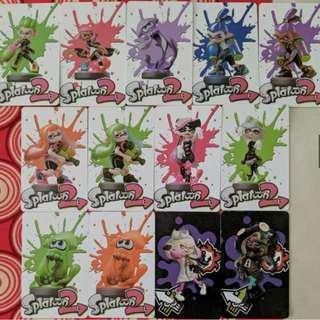🚚 (Ready stock) Amiibo cards for Splatoon 2