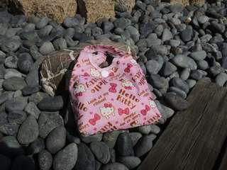 🚚 【全新】可愛KITTY厚滿版折疊購物袋