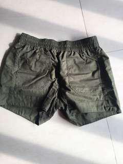 🚚 Roots棉麻短褲