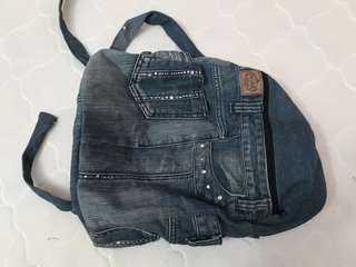 Denim Backpack #DEC50 #MY1212