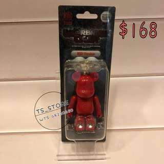 Bearbrick 有燈匙扣 (RED)