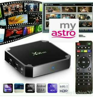 TV Box Android 7.1.2 Movies Drama Live TV Astro