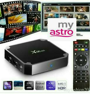 Android Tv Box Fully Loaded Premium live TV Drama Movies World Cup Astro EPL Sports