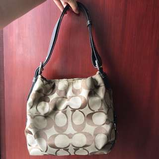 Coach classic Hobo Canvas bag