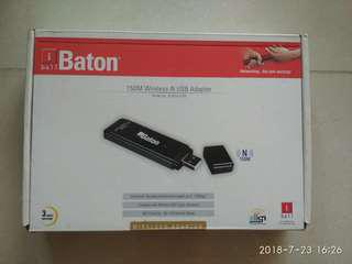 Baton 150M wireless-N USB adapter