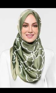Authentic DuckScarves Lattice in Matcha