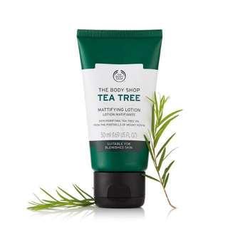 🚚 The Body Shop 茶樹淨膚保濕膠
