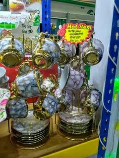 12pc cup & saucer set